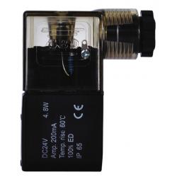 Cewki do elektrozaworów 22mm, fi 9 mm - komplety