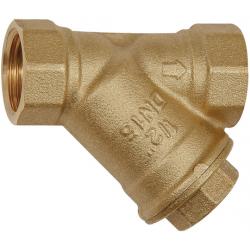 Filtr siatkowy mosiężny skośny – siatka 0,5mm / 0,8mm