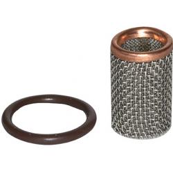 Wymienne filtry siatkowe do filtrów sieciowych z mosiądzu czerwonego – siatka 0,25mm