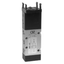 Zawór mechaniczny z przyciskiem AZ 5/2 monostabilny