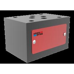 LEE-OR Adjustable Locknut Run Tee 24° Flareless / Metric ISO 6149