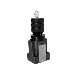 Dwudrogowy regulator przepływu VSS2-206-6,3Q/JOO-1