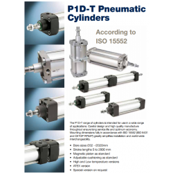 ISO 15552 Cylinders (Tie Rod Line) - P1D-T