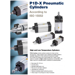 ISO 15552 Cylinders (Extreme Line) - P1D-X