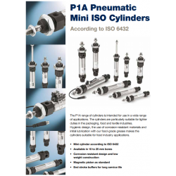 ISO 6432 Mini Cylinders - P1A-S