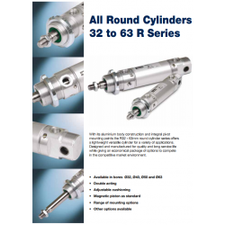 All Round Cylinders R Series Bores 32 to 63mm