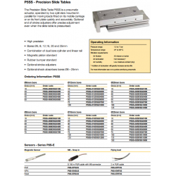 Precision Slide Tables - P5SS Series
