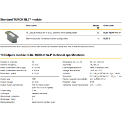 Standard TURCK BL67 module