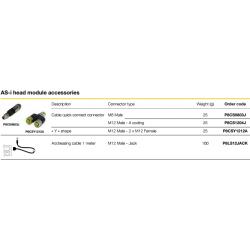 AS-i head module accessories