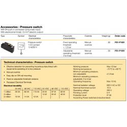 Accessories : Pressure switch