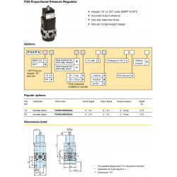 Proportional Pressure Regulators
