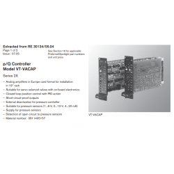 p/Q Controller Model VT-VACAP Series 2X