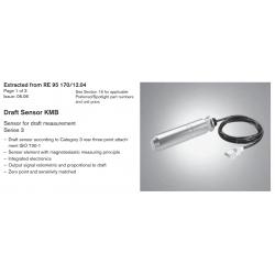 Draft Sensor KMB Sensor for draft measurement Series 3