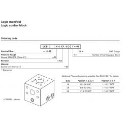 Logic manifold Logic control block