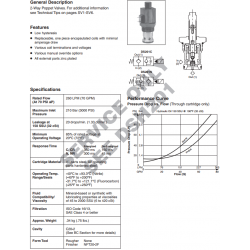 Poppet Type, 2-Way Valve Series DSL201