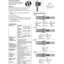 Spool Type, 3-Way Valve Series DSH083