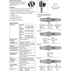 Spool Type, 3-Way Valve Series DSL103