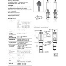 Spool Type, 3-Way Valve Series DS163