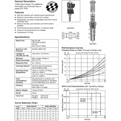 Spool Type, 4-Way 3 Position Valve Series DSL105