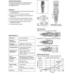 Counterbalance Valve Series MHC-010