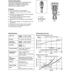 Load Control Valve Series E2A020, E2B020