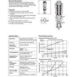 Load Control Valve Series E2K1R, E2M1R