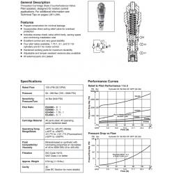 Load Control Valve Series E2A060, E2B060, E2H060, E2J060