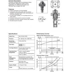 Load Control Valve Series E2A300, E2C300