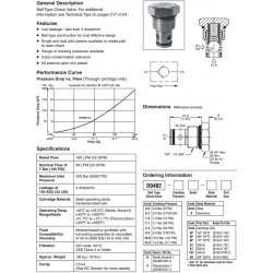 Ball Type Check Valve Series D04B2