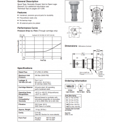 Spool Type Logic Valve Series 10SLC2-B