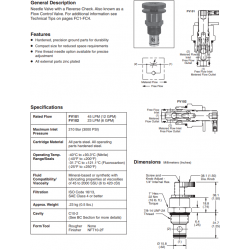 Needle Valve Series FV101 and FV102