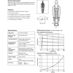 P.C. Flow Control Valve Series J04E2