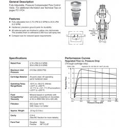 P.C. Flow Control Valve Series FA101