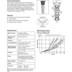 Flow Divider/Combiner Valve Series FDC101