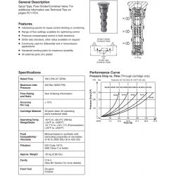 Flow Divider/Combiner Valve Series L06A3