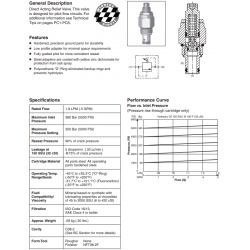 Direct Acting Relief Valve Series RDH081