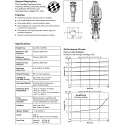 P.O. Sequence Valve (Internal Pilot) Series SVH081