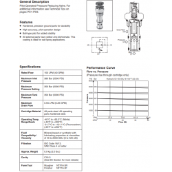 Pilot Operated Pressure Reducing Valve Series PRH162