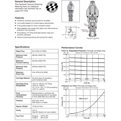 P.O. Pressure Reducing/Relieving Valve Series PRH101