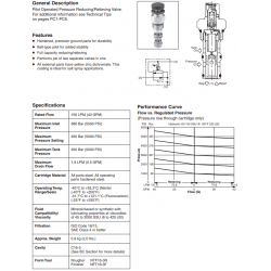 P.O. Pressure Reducing/Relieving Valve Series PRH161