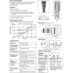 Shuttle Valve Series K04B3