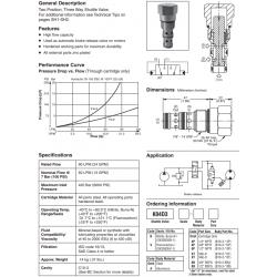 Shuttle Valve Series K04D3
