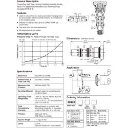Shuttle Valve Series K04G3
