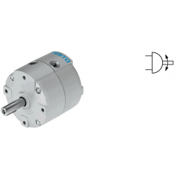 Semi-rotary drives DRVS, double-acting