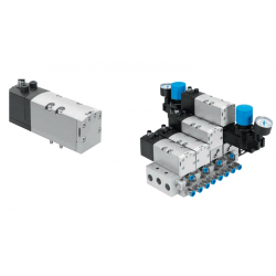 Solenoid valves VSVA, to ISO 5599-1