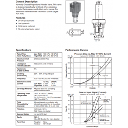 N.C. Proportional Needle Valve Series DF201C