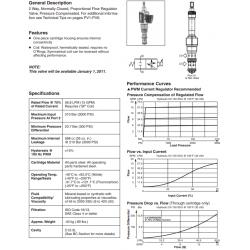 Proportional Flow Regulator Valve Series DFA125C21