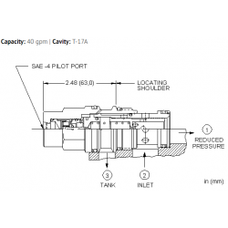 PBHCBBN Air-controlled, pilot operated, pressure reducing valve