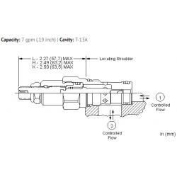 NFCCLCN Fully adjustable needle valve