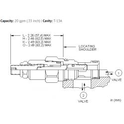 NFCDLFN Fully adjustable needle valve